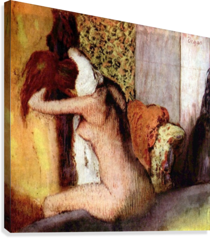 AFTER BATHING 2 BY DEGAS DEGAS  Canvas Print