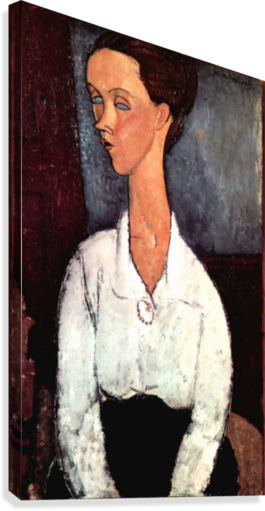 Modigliani - Portrait  Canvas Print