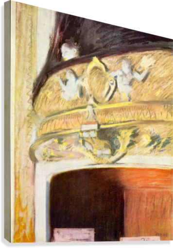 Theater Loge by Degas