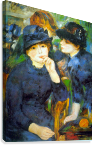 Two Girls by Renoir  Canvas Print