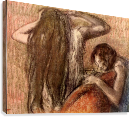 Two girls by Degas  Canvas Print