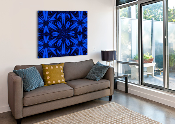 MIDNIGHT FLOWERS SHERRIE LARCH  Canvas Print