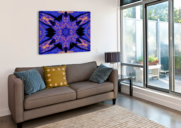 SAPPHIRE OF THE DESERT SHERRIE LARCH  Canvas Print