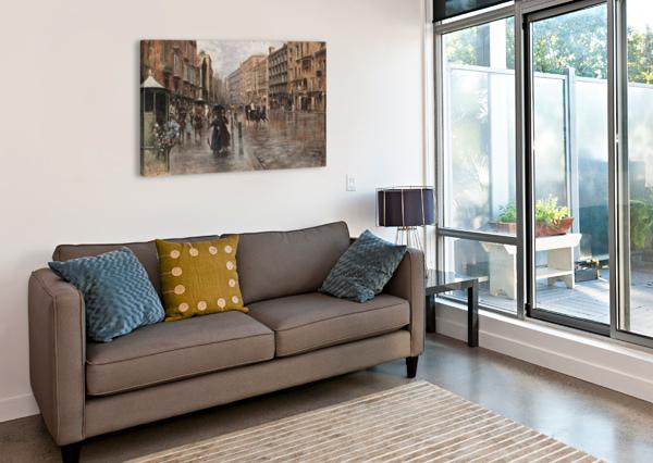 NAPOLI, VIA TOLEDO CARLO BRANCACCIO  Canvas Print