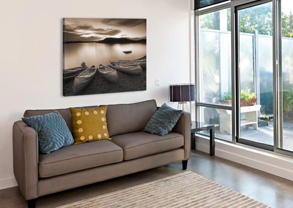 ELKWATER LAKE, CYPRESS HILLS INTERPROVINCIAL PARK, EKLWATER ALBERTA CANADA. PACIFICSTOCK  Canvas Print