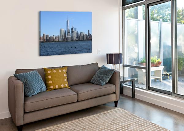 MANHATTAN, NEW YORK BRIAN CORBETT  Canvas Print