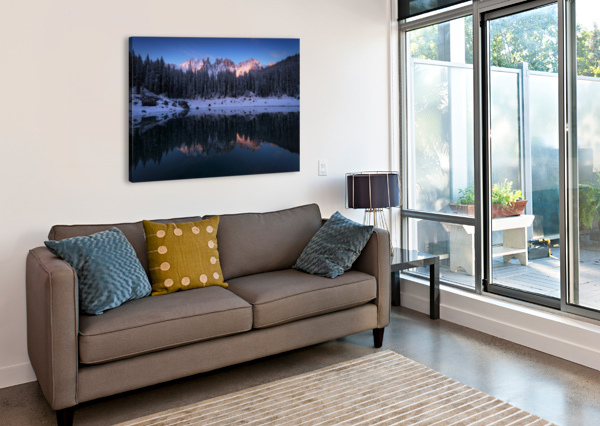 THE FIRST MORNING 1X  Canvas Print