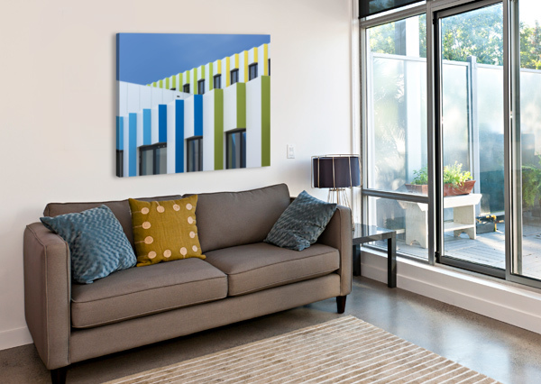 TRIPLE FACADES 1X  Canvas Print