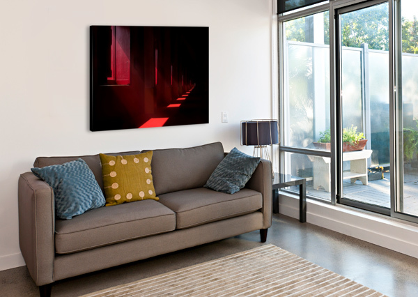 IN THE RED TEMPLE 1X  Canvas Print