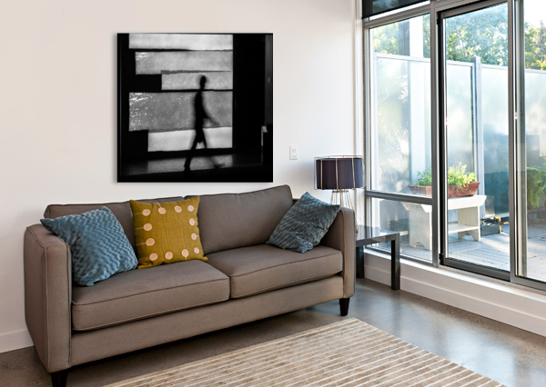 IN SQUARES 1X  Canvas Print