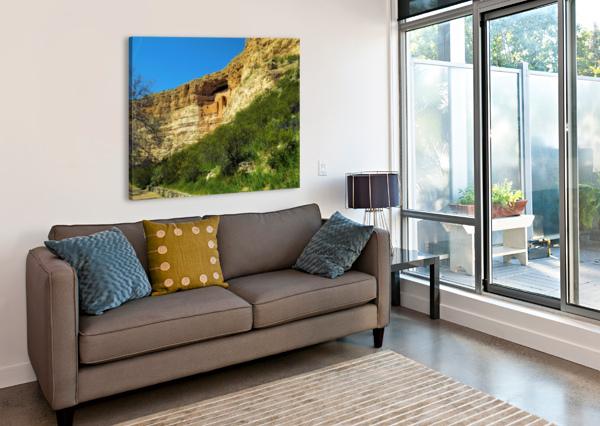 MONTEZUMA'S CASTLE  ARIZONA PHOTOS BY JYM  Impression sur toile