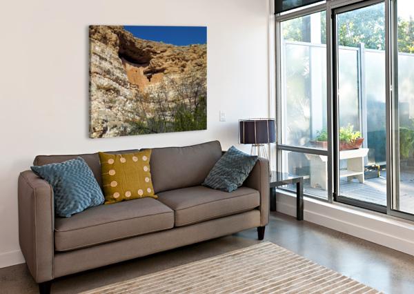 MONTEZUMA'S CASTLE-3 ARIZONA PHOTOS BY JYM  Canvas Print