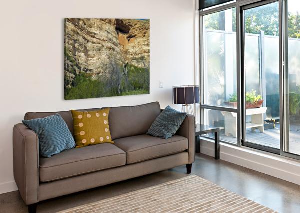 MONTEZUMA'S CASTLE-1 ARIZONA PHOTOS BY JYM  Impression sur toile