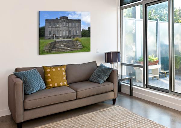 LISSADELL HOUSE & GARDENS BRIAN CORBETT  Canvas Print
