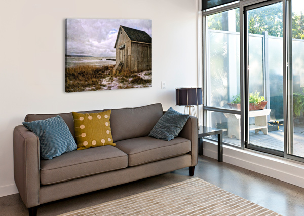 WEATHERED MICHEL SOUCY  Canvas Print