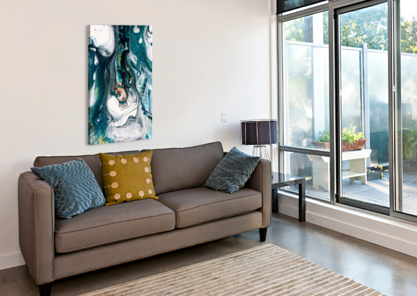 ABST STOCK PHOTOGRAPHY  Canvas Print
