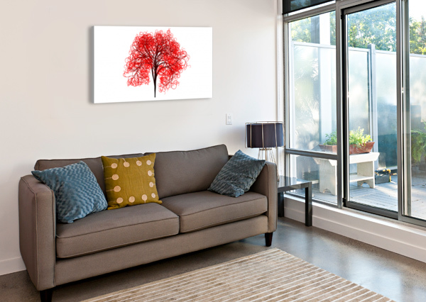 TREE STOCK PHOTOGRAPHY  Canvas Print