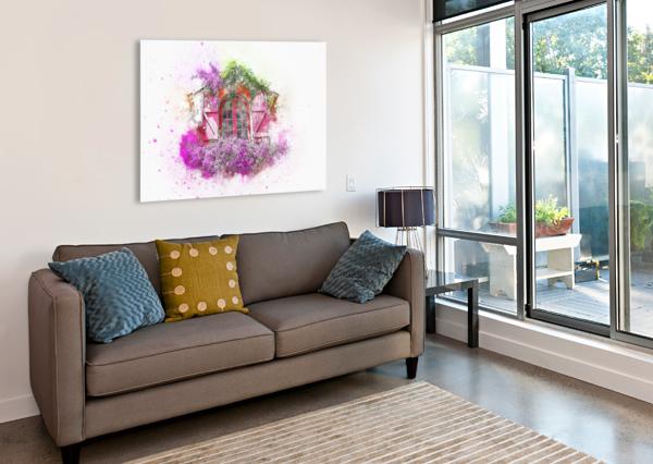 WINDOW STOCK PHOTOGRAPHY  Canvas Print