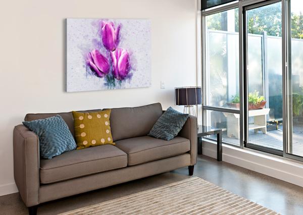 FLOWERZ STOCK PHOTOGRAPHY  Canvas Print