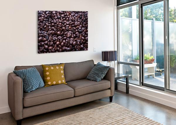 COFFEE STOCKPIX  Canvas Print