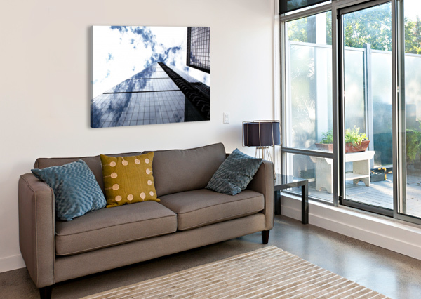 LONDON CITY - SKYSCRAPER BENTIVOGLIO PHOTOGRAPHY  Canvas Print