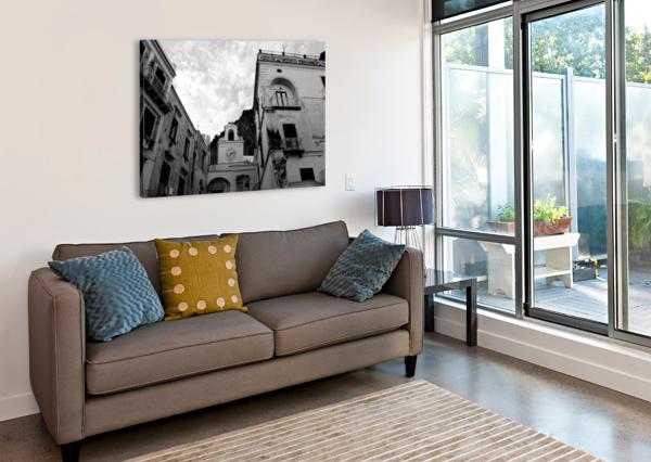 ATRANI VILLAGE - ITALY BENTIVOGLIO PHOTOGRAPHY  Canvas Print