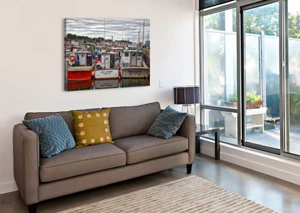 PACKED IN MICHEL SOUCY  Canvas Print