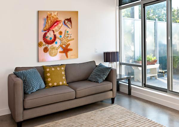 SEA TREASURES JACQUELINE SLETER  Canvas Print