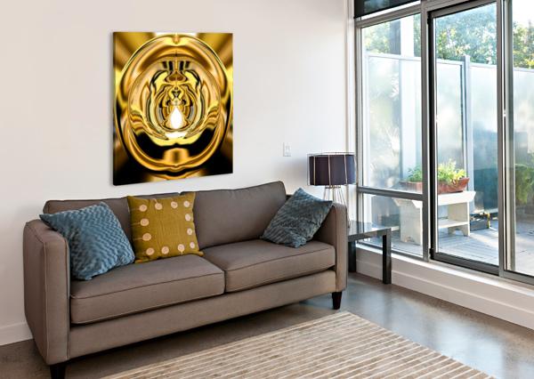 GOLDTONE3 CHERYL BARKER  Canvas Print