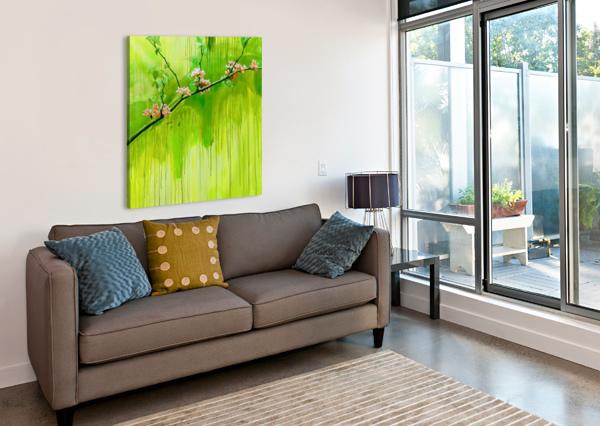 GREEN SPRING YUROVICH GALLERY  Canvas Print