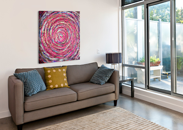CIRCLES YUROVICH GALLERY  Canvas Print