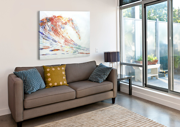 THE WAVE YUROVICH GALLERY  Canvas Print