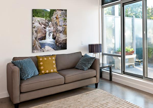POUDRE RIVER COLORADO 3QUARTERS IMAGES  Impression sur toile