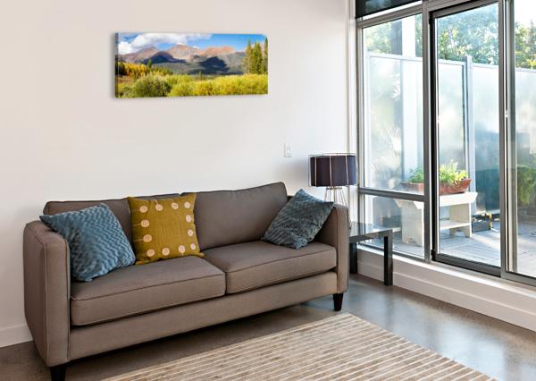 NORTH PARK COLORADO  3QUARTERS IMAGES  Impression sur toile