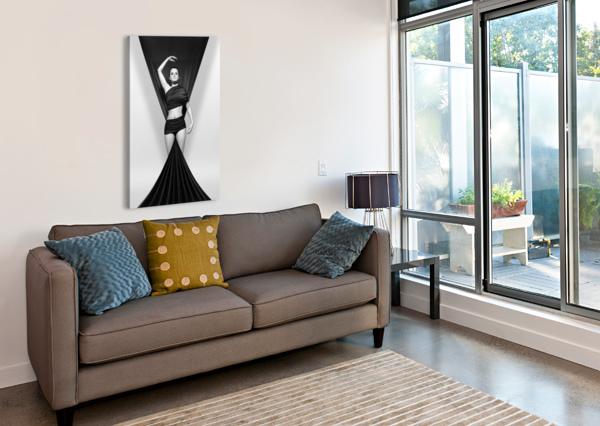 PINK _ BLUE STAR SEAMLESS PATTERN ARTWORK RIZU_DESIGNS  Canvas Print