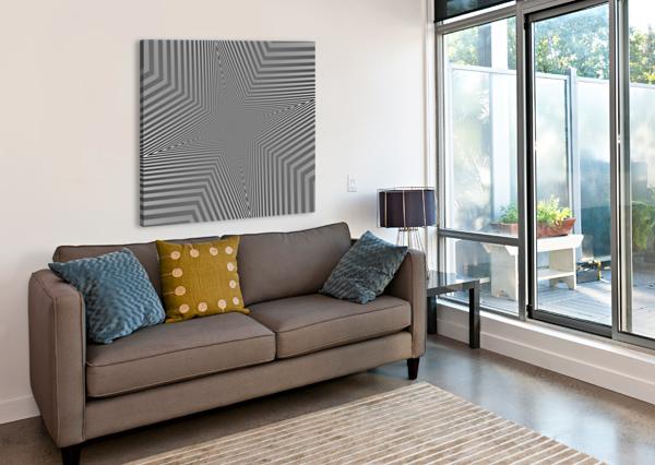 CRAZY LOOP RIZU_DESIGNS  Canvas Print