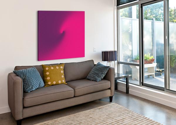 ABSTRACT PURPLE & BLUE ART RIZU_DESIGNS  Canvas Print