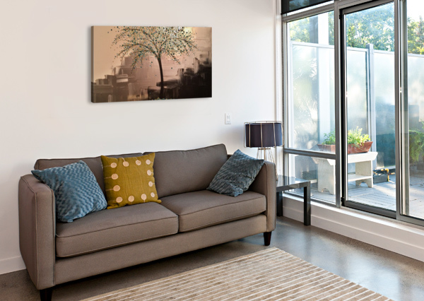 TREE OF TREASURES COLOURS N CREATIONS  Canvas Print