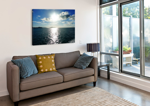 SEA SUN BEN CONWAY  Canvas Print