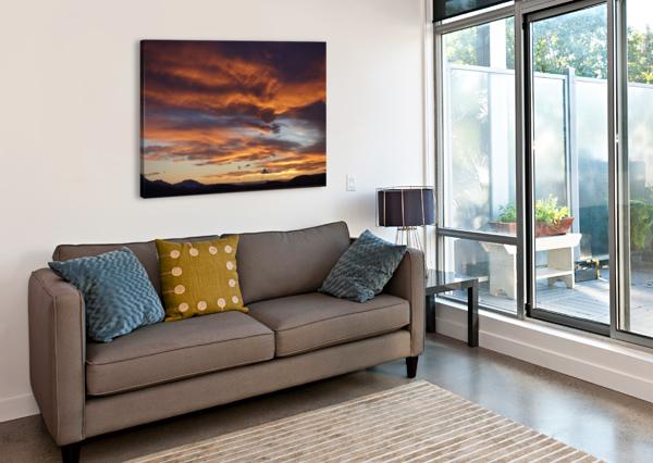 ICELANDIC SUNRISE BEN CONWAY  Canvas Print