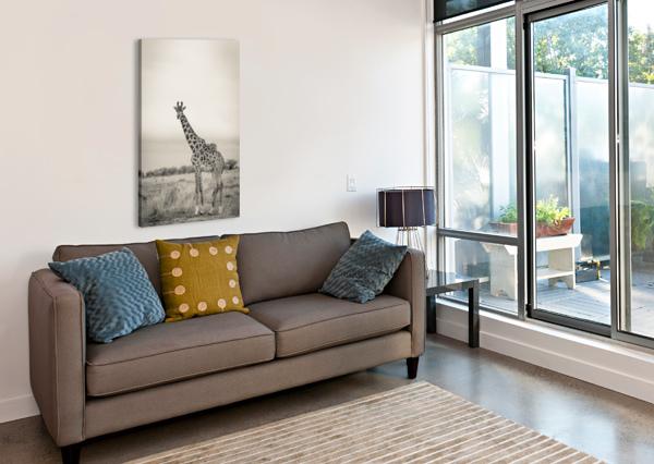 MAJESTIC GIRAFFE BY WWW.JADUPONTPHOTO.COM JADUPONT PHOTO  Canvas Print