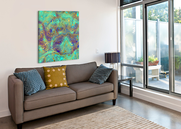 ABSTRACT MARBLE I ART DESIGN WORKS  Canvas Print