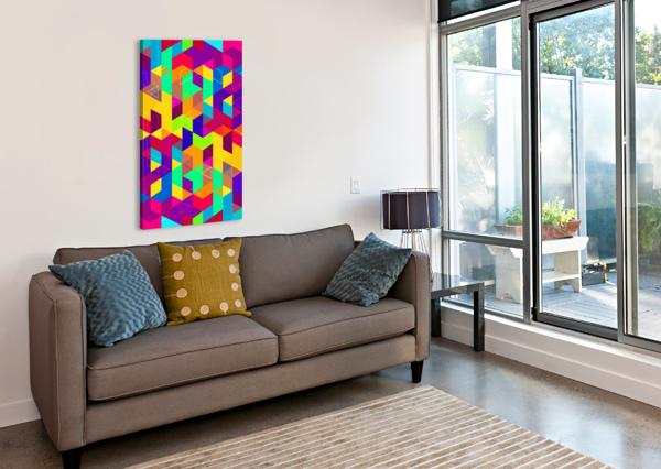 PATTERN LXXX ART DESIGN WORKS  Canvas Print