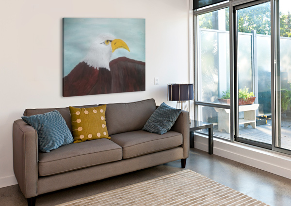 EAGLE BELLS PAINTINGS  Canvas Print