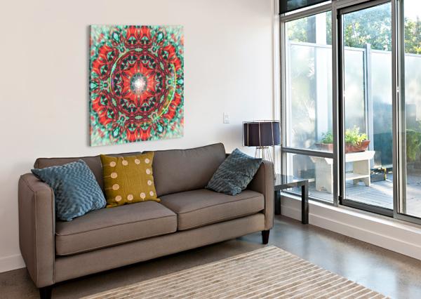 ABSTRACT MANDALA I ART DESIGN WORKS  Canvas Print