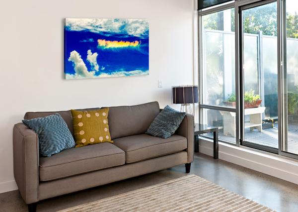 FOLLOW THE RAINBOW  VORTEXSTYLE   Impression sur toile