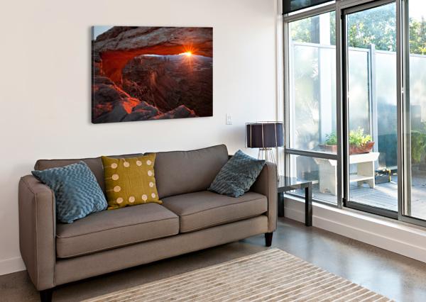 MESA ARCH SUNRISE 1X  Canvas Print