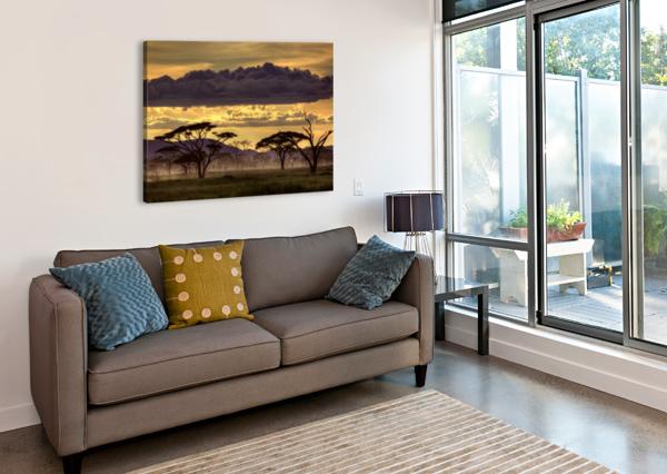 GOOD EVENING TANAZANIA 1X  Canvas Print