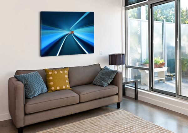 TUNNEL VISION 1X  Canvas Print