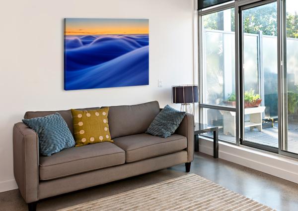 WAVES 1X  Canvas Print